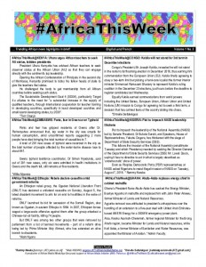 thumbnail of [FINAL Volume 1 No3] African news highlights in brief